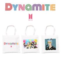 Kpop  BTS Canvas Bag Bangtan Boys Dynamite Canvas Bag Handbag Shoulder Bag Cartoon Cute All-match Storage Bag