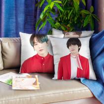 Kpop BTS Pillow Bangtan Boys Concert Pillow 3D Digital Printing Pillow Sofa Cushion Single Pillow