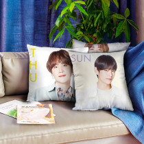 Kpop BTS Pillow Bangtan Boys New Pictorial Pillow 3D Digital Printing Pillow Cushion Single Pillow