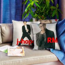Kpop BTS Pillow Bangtan Boys New Magazine Pillow Digital Printing 3D Pillow Cushion Single Pillow