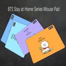 Kpop BTS Mouse Pad Bangtan Boys Stay at Home Mouse Pad Cartoon Cute Waterproof Pad Desktop Leather Pad CHIMMY COOKY KOYA