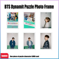 Kpop BTS Puzzle Photo Frame Bangtan Boys New Album Dynamite Trailer Picture Puzzle Lomo Card V SUGA JIN JIMIN