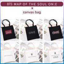 Kpop BTS Shoulder Bag Bangtan Boys MAP OF THE SOUL ON:E Concert Shoulder Bag Portable Canvas Storage Bag