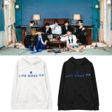 Kpop BTS Sweater Bangtan Boys Hooded sweater Hoodie Sweatshirt Hoodie V SUGA JIN JIMIN