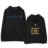 Kpop BTS Sweater Bangtan Boys New Album BE Hoodie Cotton Sweatshirt Hoodie V SUGA JIN JIMIN