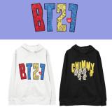 Kpop BTS  SweaterBangtan Boys UNIVERSTAR Series Hooded sweater Cartoon Cute Print Hoodie Sweatshirt