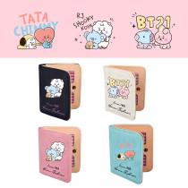 Kpop BTS Wallet Bangtan Boys Baby Series Wallet Cartoon Cute Short Wallet Coin Purse