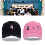 Kpop BTS Hat Bangtan Boys New Album BE Concept Photo Baseball Cap Peaked Cap