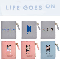 Kpop BTS Wallet Bangtan Boys New Album BE Concept Photo Wallet Storage Coin Purse V SUGA JIN JIMIN