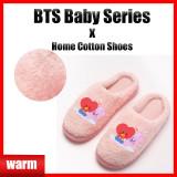 Kpop BTS Cotton Shoes Bangtan Boys Baby Series Slippers Home Cotton Shoes Keep Warm Cotton Shoes Cotton Shoes 与