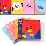 Kpop BTS Stickers Bangtan Boys Baby Series Cartoon Cute Convenient Stickers CHIMMY COOKY KOYA TATA