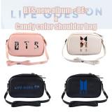 Kpop BTS Shoulder Bag Bangtan Boys New Album BE Small Square Bag Messenger Bag V SUGA JIN JIMIN