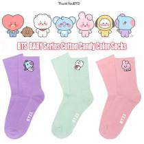 Kpop BTS Socks Bangtan Boys Socks BABY Series Cotton Socks Candy Color Warm Socks Stockings Woolen Socks