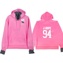 Kpop BTS Sweatshirt Bangtan Boys Dynamite Threaded Sweatshirt Spring and Autumn Casual All-match Pullover Top