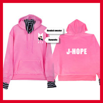 Kpop Sweatshirt Bangtan Boys Dynamite Striped Hooded Sweater Print Pullover Trendy Top V SUGA JIN JIMIN