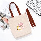 Kpop BTS Canvas Bag Bangtan Boys Diagonal Bag Shoulder Bag Canvas Bag Handbag