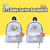 Kpop BTS Backpack Bangtan Boys Backpack Baby Series Backpack Canvas Bag CHIMMY COOKY KOYA TATA