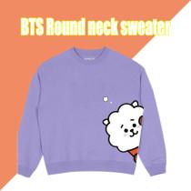 Kpop BTS Sweatshirt Bangtan Boys Round neck sweater Sweatshirt CHIMMY COOKY KOYA TATA