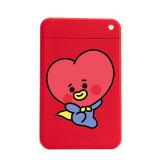 Kpop BTS Card Holder Bangtan Boys Baby Series Cute Card Holder Silicone Storage Card Holder Luggage Registration Card Storage