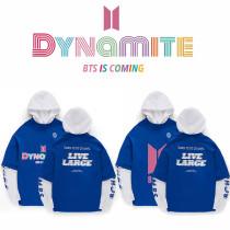 Kpop BTS Sweater Bangtan Boys Dynamite Hooded Sweatshirt Sweatshirt V SUGA JIN JIMIN