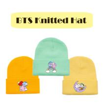Kpop BTS Knitted Hat Bangtan Boys Warm Hat Woolen Hat CHIMMY COOKY KOYA TATA