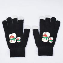 Kpop BTS Gloves Bangtan Boys Christmas Touch Screen Fingerless Gloves Winter Wool Warm Gloves