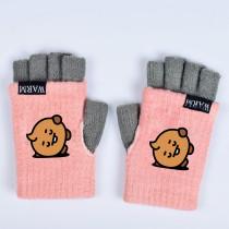 Kpop BTS Gloves Bangtan Boys Gloves Baby Series Long Fingerless Warm Half Finger Knitted Gloves