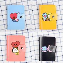 Kpop BTS Card Holder Bngtan Boys Baby Series Card Holder Storage Card Holder ID Card Holder