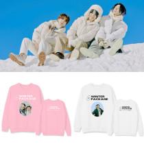 Kpop BTS Sweatshirt Bangtan Boys WINTER PACKAGE Crew Neck Sweatshirt Sweatshirt