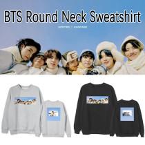 Kpop BTS Sweatshirt Bangtan Boys WINTER PACKAGE Round Neck Sweatshirt Sweatshirt Couple Sweatshirt