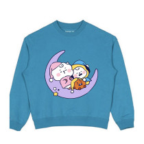 Kpop BT21 Sweatshirt Bangtan Boys Sweatshirt Baby Series Round Neck Sweatshirt Sweatshirt