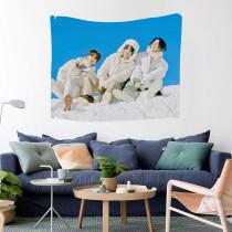 Kpop BTS Tapestry Bangtan Boys Background Cloth Hanging Cloth  Tapestry Tapestry V SUGA JIN JIMIN