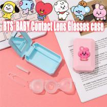 Kpop BTS Glasses case Bangtan Boys BABY series Contact Lens Cosmetic Contact Lens Box Contact Lens Storage Box