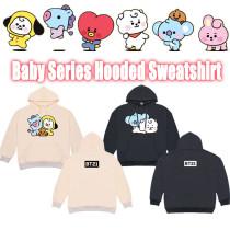 Kpop BTS Sweatshirt Bangtan Boys Baby Hooded Sweatshirt Thin Jacket Cute Top