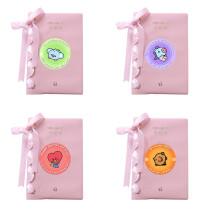 Kpop BTS Notebook Bangtan Boys Fresh and Sweet Ribbon Notebook Diary