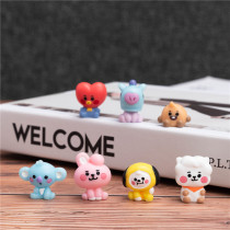 Kpop BTS Doll Bangtan Boys BABY Series Doll Desktop Decoration Cute Doll Resin Toy
