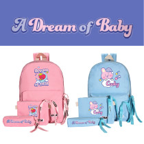 Kpop 3Pc/Set BTS Backpack Bangtan Boys Korean Fashion Backpack Sleeping Dream School Bag Travel Bag Messenger Bag