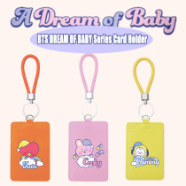 Kpop BTS Card Holder Bangtan Boys DREAM OF BABY Series Card Holder Card Holder Key Hanging Buckle Document Storage