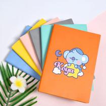 Kpop BTS Notebook Bangtan Boys Simple Printing Book Sleeping Notebook Diary Office Notebook