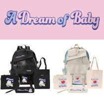 Kpop 4Pc/Set BTS Backpack Bangtan Boys DREAM Baby Series School Bag Backpack Student School Bag