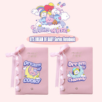 Kpop BTS Notebook Bangtan Boys DREAM OF BABY Series Notebook Diary Notepad CHIMMY COOKY TATA