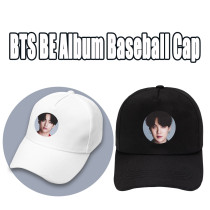 Kpop BTS Baseball Cap Bangtan Boys BE Album Pictorial Photo Cap Baseball Cap Sun Hat