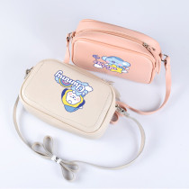 Kpop BTS Messenger Bag Bangtan Boys Color Simple Pu Messenger Bag Sleeping Dream Shoulder Bag Textured Small Bag