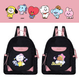 Kpop BTS School Bag Bangtan Boys School Bag Dream of Baby Backpack Backpack