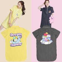 Kpop BTS Pajamas Bangtan Boys REAM OF BABY Pajamas Home Wear Dress Striped Pajamas