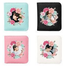 Kpop BTS Wallet Bangtan Boys BE Spring Photo Wallet Clip Short Money Change Storage Coin Bag Storage Card Case