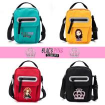 Kpop Blackpink Shoulder Bag Canvas Bag Shoulder Bag Canvas Bag Printed Pattern Canvas Cute Small Square Bag