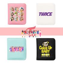 Kpop TWICE Wallet  Macarons Wallet Wallet Student Cartoon Cute Simple Printed Card Holder