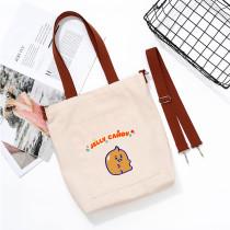 Kpop BT21 Shoulder Bag Bangtan Boys Handbag Canvas Bag College Style Shoulder Bag Crossbody Bag