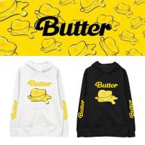 Kpop BTS Sweatshirt Bangtan Boys Hooded Sweater Loose Long Sleeve Sweatshirt